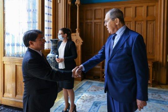 Россия выступает против вмешательства во внутренние дела Никарагуа