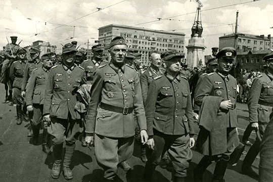 «Парад побежденных»: марш пленных немцев в Москве