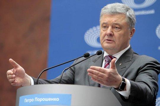 Бывший президент Украины Петр Порошенко пообещал вернуть Крым в состав Украины за год