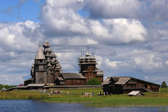 Жемчужина русского севера – остров Кижи. Часть третья