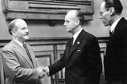 Пакт Молотова – Риббентропа в историческом контексте
