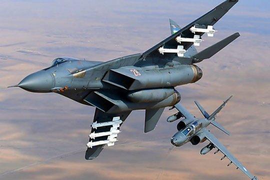 В Узбекистане заявили о столкновении МиГ-29 с афганским самолетом в небе