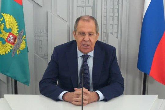 Видеообращение Сергея Лаврова к участникам международного форума «ИнтерВолга-2021»