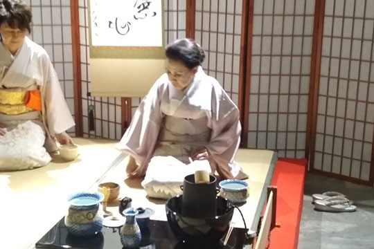 Красота Японии в залах музея на Делегатской в Москве