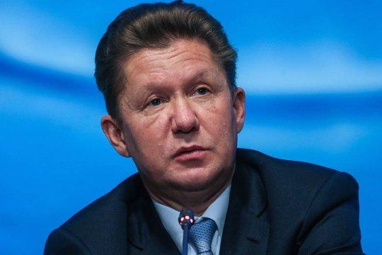Миллер заявил о дефиците газа в хранилищах Европы на начало отопительного сезона