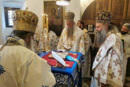В Черногории прошла интронизация митрополита Черногорско-Приморский Иоанникия