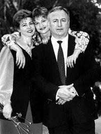 Людмила Турищева и Валерий Борзов