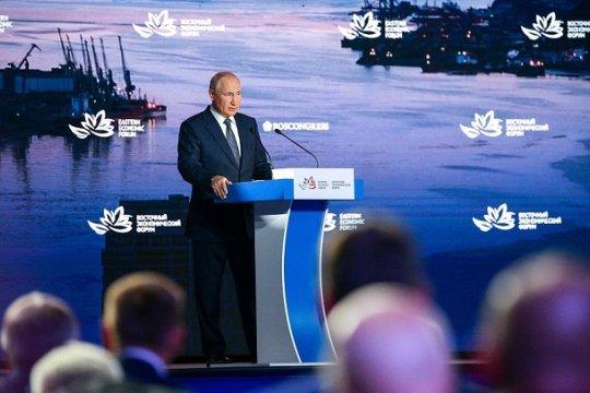 Владимир Путин: «Россия открыта для взаимовыгодного партнёрства со всеми странами Азиатско-Тихоокеанского региона»