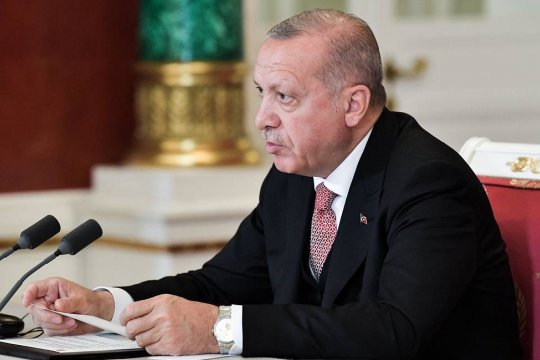 Эрдоган вновь заявил о непризнании Крыма российской территорией