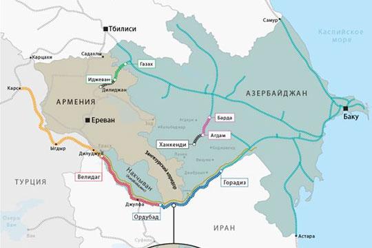 Тупик в начале «Зангезурского коридора»