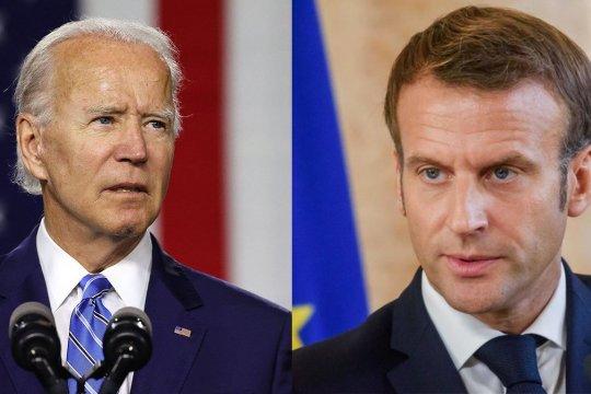 Макрон и Байден договорились «восстановить доверие» между США и Францией