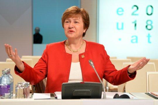 МВФ поддержал Георгиеву, ранее обвиненную в манипуляциях с рейтингами