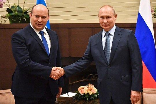 Путин и Беннет проводят переговоры в Сочи