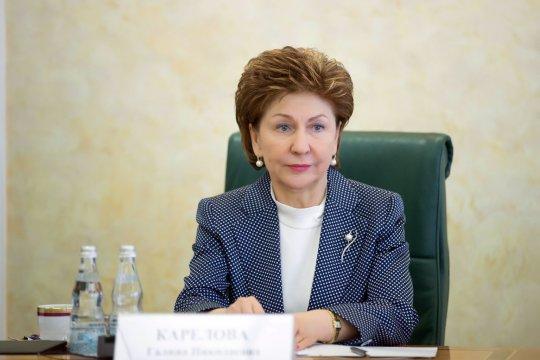 Г. Карелова: Россия и ЮНИСЕФ могут увеличить общий вклад в решение задачи сохранения здоровья