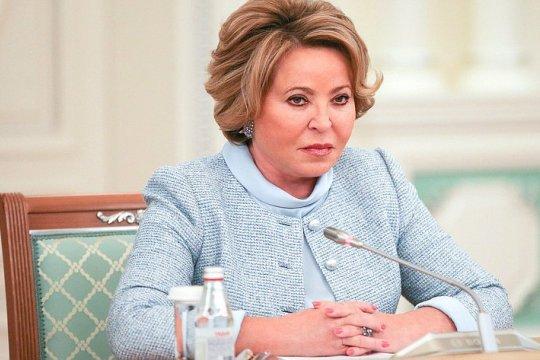 Председатель СФ В. Матвиенко провела встречу с Председателем Парламентской Ассамблеи Совета Европы Х. Дамсом