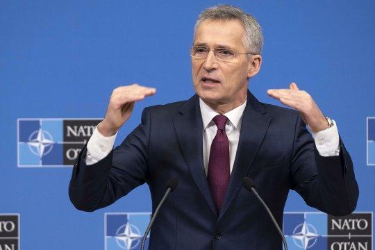 Столтенберг: Украина и Грузия вступят в НАТО, но «это не вопрос завтрашнего дня»
