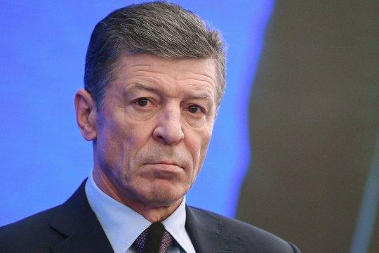 Дмитрий Козак прокомментировали итоги переговоров с Викторией Нуланд