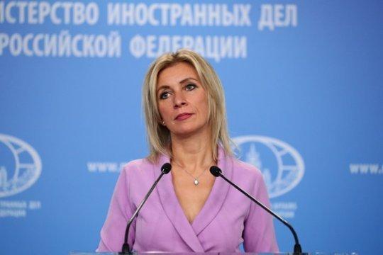 Захарова прокомментировала поговоркой слова Зеленского о «наглой» внешней политике Украины