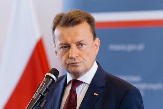 Глава Минобороны Польши обвинил Россию в ухудшении ситуации с безопасностью в Европе