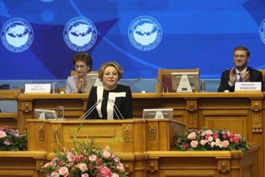 В. Матвиенко: Евразийский женский форум вновь подтвердил статус наиболее авторитетной женской дискуссионной площадки