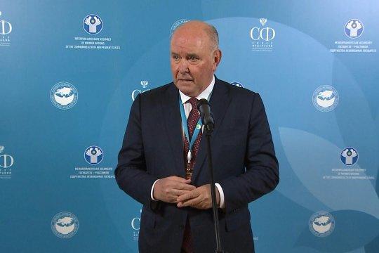 Председатель Комитета СФ по международным делам Г. Карасин о серии двусторонних переговоров на полях Третьего Евразийского женского форума