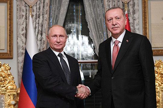 Президенты России и Турции вернулись к очному формату общения