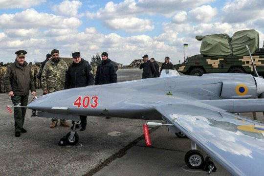 В Генштабе ВСУ подтвердили боевое применение дрона Bayraktar в Донбассе