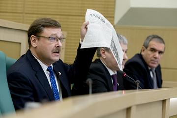 К. Косачев: Итоги Ялтинской конференции – пример для современных политиков