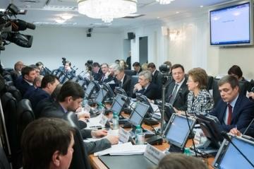 В Совете Федерации обсудили итоги оказания материальной помощи муниципальным образованиям Республики Крым
