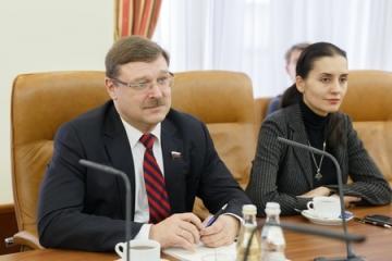 К. Косачев: ПАСЕ упустила возможность сыграть конструктивную роль в контексте сегодняшнего кризиса на Украине