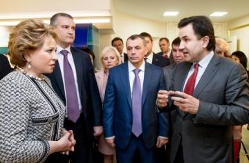 Крым должен войти в число регионов-локомотивов социально-экономического развития  России – В. Матвиенко