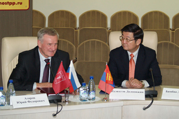 Московско-монгольское деловое сотрудничество. Начало