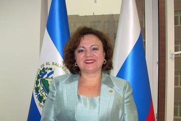 Чрезвычайный и Полномочный Посол Республики Эль Сальвадор  в РФ Клаудия Иветте Канхура де Сентено: «Мы будем строить надежные партнерские отношения»