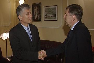 Философ и политик Зоран Джинджич