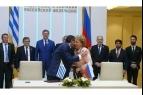Валентина Матвиенко и глава парламента Уругвая Рауль Сендик высказались за активизацию двусторонних  связей