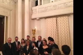 Предновогодняя дружеская встреча министра иностранных дел С.В. Лаврова с журналистами