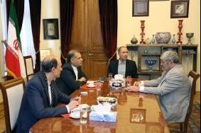 А. Оганесян встретился с послом ИРИ в России
