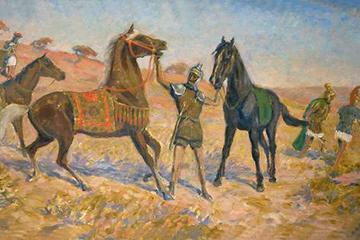 Российско-французская выставка: «Лошадь и война в XIX веке»