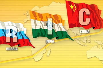 Russian approach towards China and India, vector for a multipolar world order