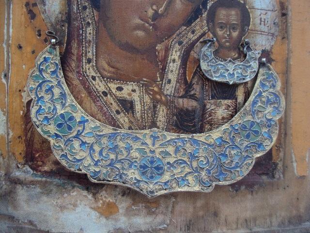 икона Казанская богородица : Антиквариат