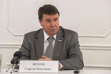 В. Цеков: В ближайшие годы необходимо вывести инфраструктуру Крыма на лидерские позиции