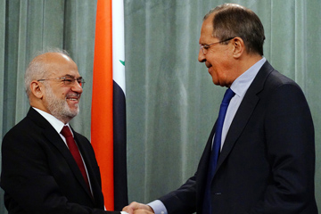 Foreign Minister Sergey Lavrov's remarks and responses to media questions at a joint news conference following talks with Foreign Minister of the Republic of Iraq Ibrahim al-Jaafari, Moscow, March 19, 2015