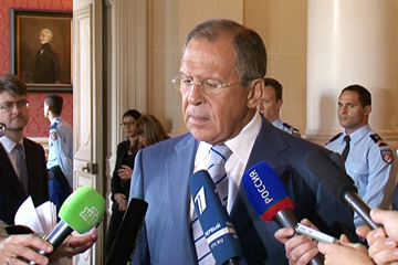 Comment by Foreign Minister Sergey Lavrov on the sidelines of the International Conference on Peace and Security in Iraq held in Paris on 15 September 2014
