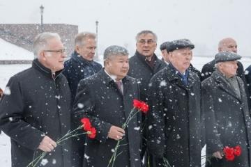 «Эстафета памяти» к 70-летию Победы - в Москве на Поклонной горе