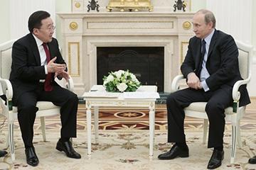 Визит Президента Монголии в Россию приурочен к 9 Мая