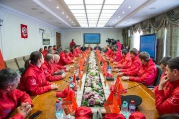 Автопробег «Наша Великая Победа» доехал до Совета Федерации