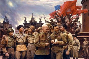 Американцы на Красной площади