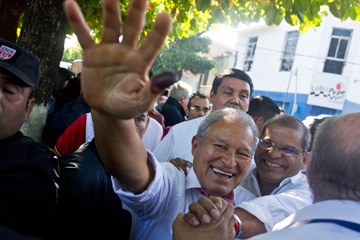 Сальвадор снова больше «левый», чем «правый»…