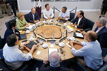 У озера. Громкий саммит G-8 в тихом отеле
