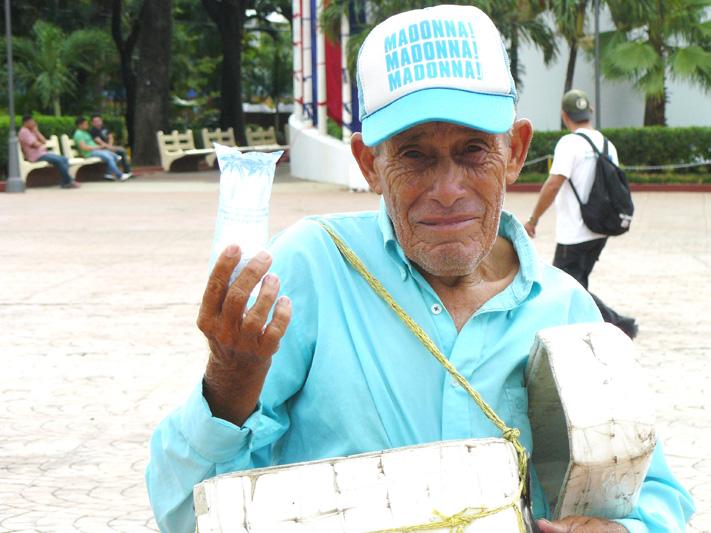 Продавец воды